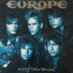 Europe ‎- Out Of This World (LP) (Red Vinyl) (VG/F-G)